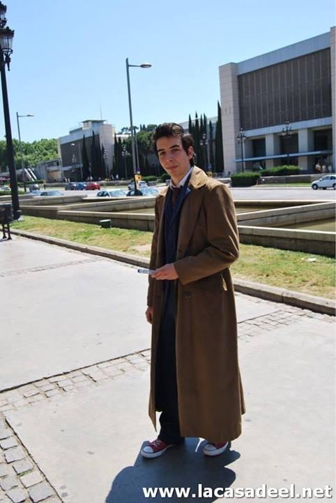Cosplayers Doctor Who Salón del Cómic de Barcelona