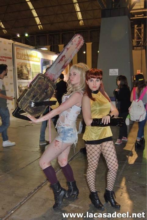 Cosplayers Salón del Cómic de Barcelona