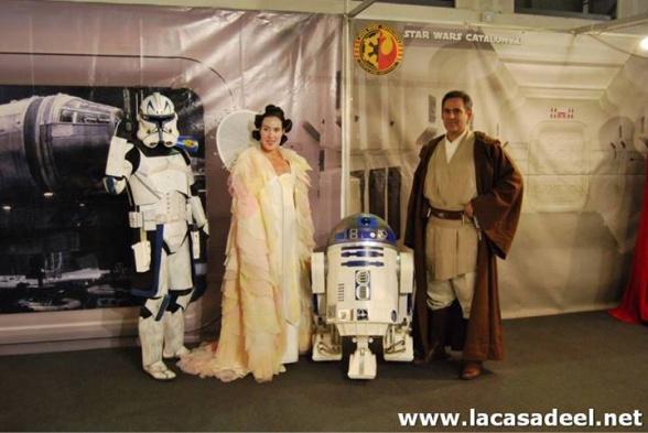 Cosplayers Star Wars Salón del Cómic de Barcelona