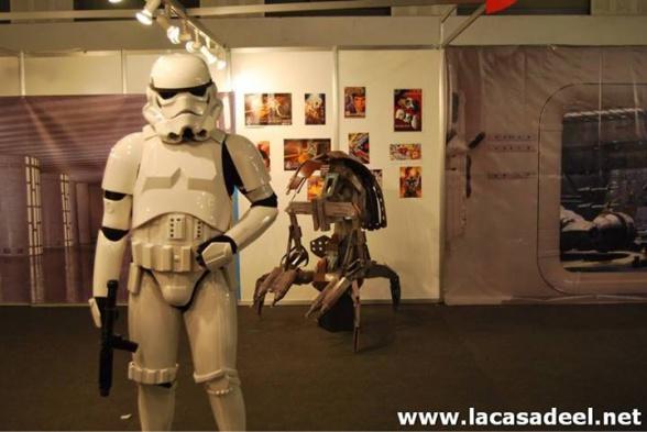 Cosplayers Soldado imperial Salón del Cómic de Barcelona