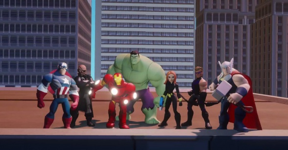 Disney Infinity Marvel Super Heroes vengadores