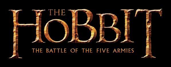 El Hobbit La Batalla de los Cinco Ejércitos logo