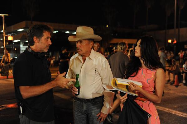 Emilio Aragon, Robert Duvall y Angie Cepeda