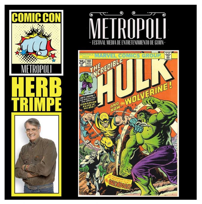 Herb Trimpe Comic-Con Metrópoli