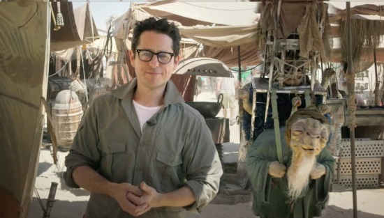 JJ Abrams Star Wars Force the Change