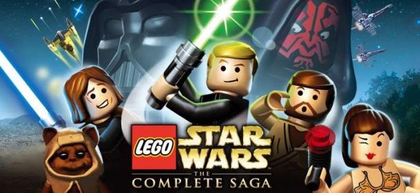 Lego Star Wars The Complete Saga logo