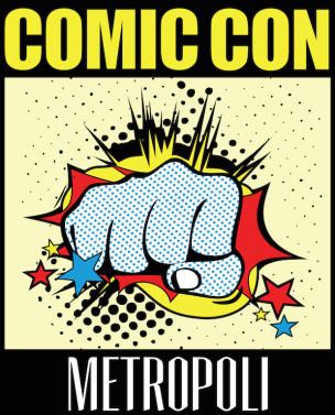 Logo Comic Con Metropoli