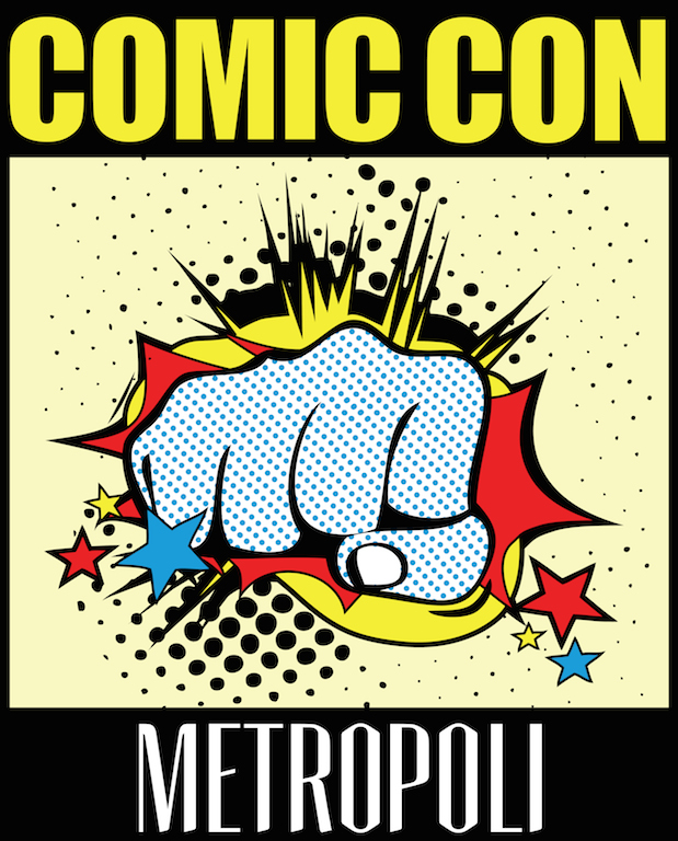 Logo Metrópoli Comic Con