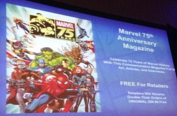 Marvel 75 aniversario