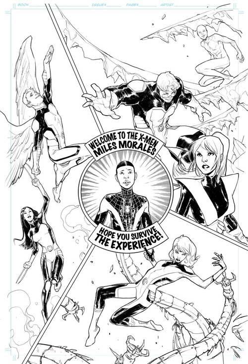 Miles Morales se une a All-New X-Men