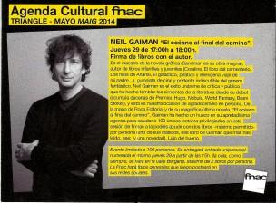Neil Gaiman Barcelona 1