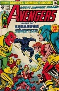 Los Vengadores n.º 141, Vol. I