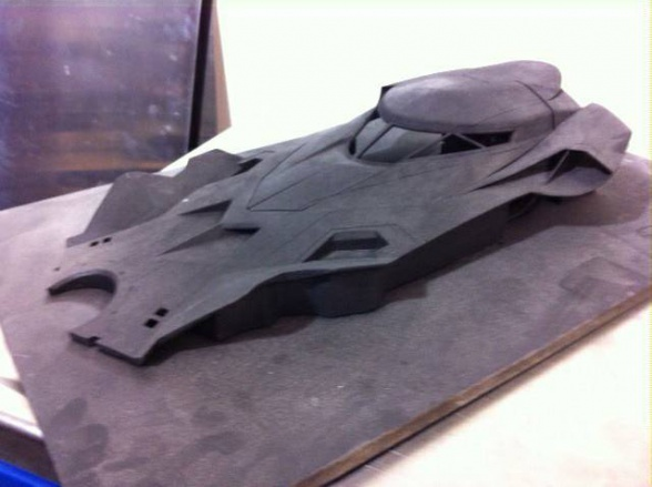 Prototipo Batmóvil Batman vs Superman