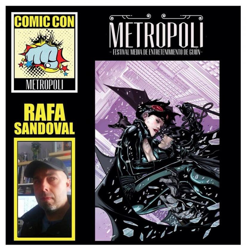 Rafa Sandoval en Metrópoli