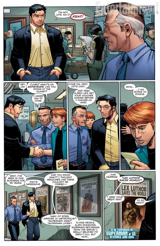 Superman #32 - Johns & Romita Jr.