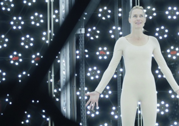 The Congress - Robin Wright full body scan
