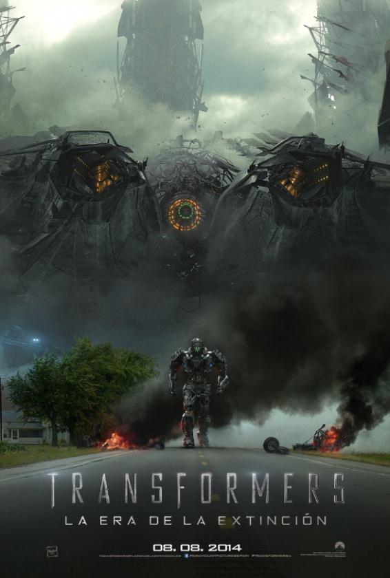 Transformers 4 - cartel español