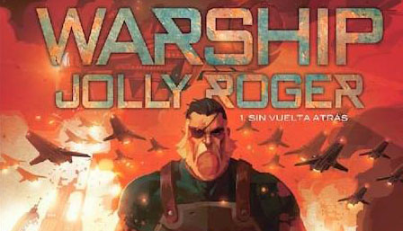 Warship Jolly Roger evento cover