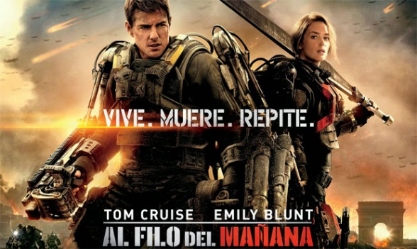 Tom Cruise - Al filo del mañana - banner final castellano