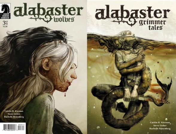 Alabaster, cómic publicado por Dark Horse, cuya autora es Caitlín R. Kiernan