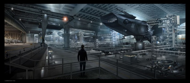 capitán américa 2 - bahía de helitransportes