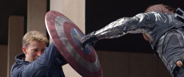 capitán américa 2 - bucky escudo