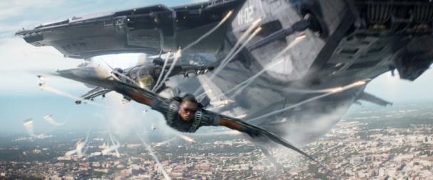 capitán américa 2 - falcon final