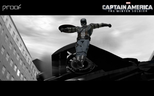 capitán américa 2 - quinjet y moto previa 02