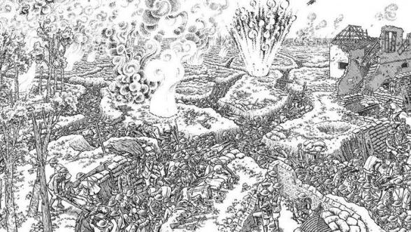 'La Gran Guerra', de Joe Sacco