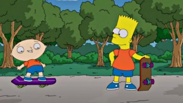 Bart y Stewie