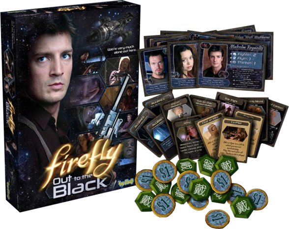 firefly out to the black juego de mesa