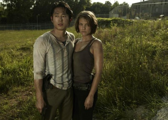 glenn the walking dead la casa de el