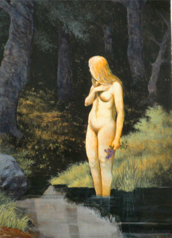 La joven ahogada, el cuadro que fascina a Imp