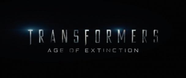 logo película transformers age of extinction