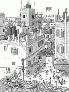 'Notas al pie de Gaza', de Joe Sacco