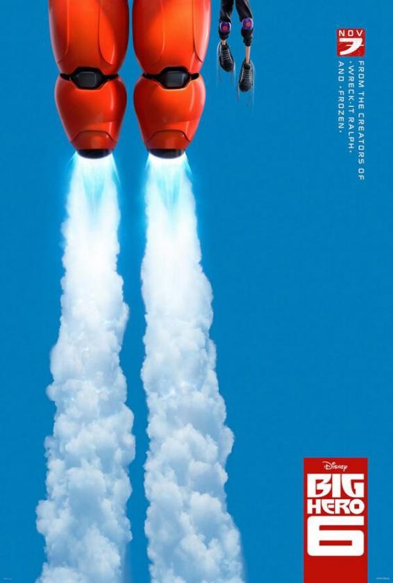 póster Big Hero 6