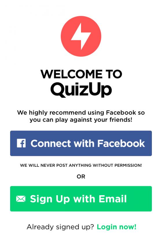 registro quizup