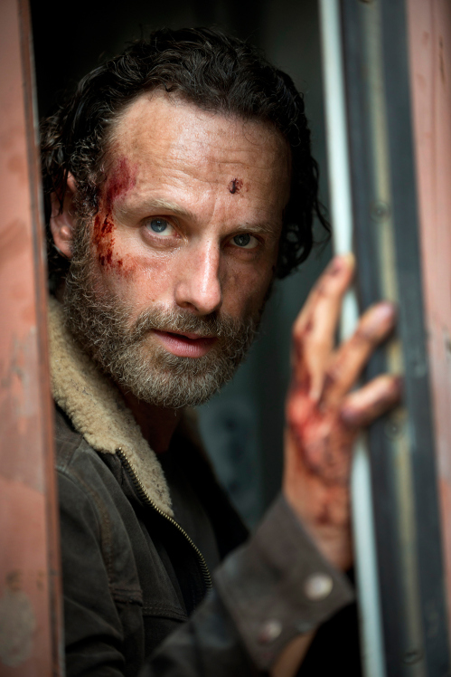 the walking dead t5 rick grimes la casa de el