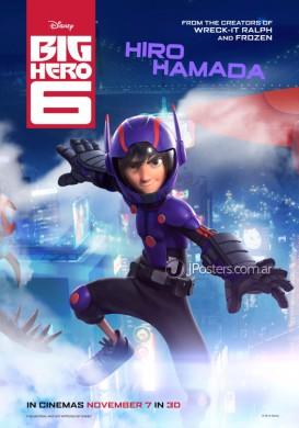 6 Héroes Hiro Hamada