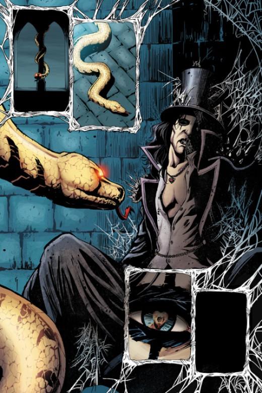 Primer vistazo al nuevo cómic sobre Alice Cooper