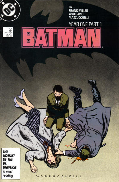 Batman 404 Year One