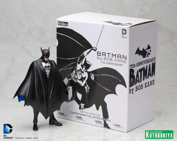 Batman Bob Kane Kotobukiya caja