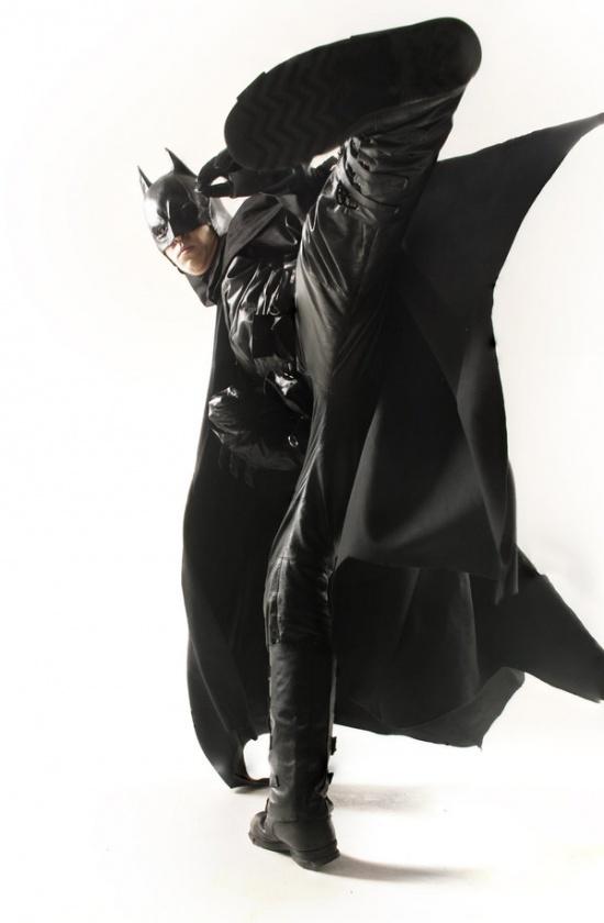 Batman Cosplay fight
