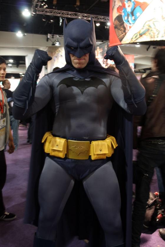 Batman cosplay costume