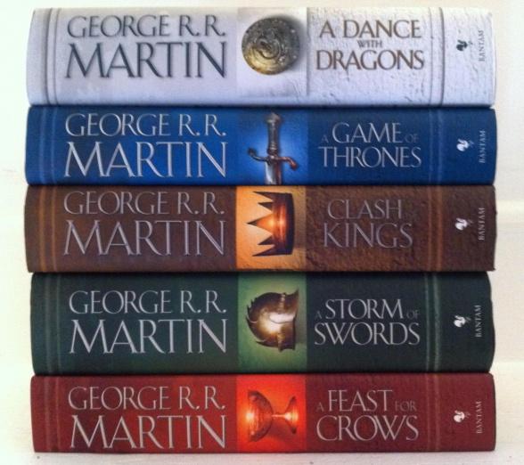 Canción de hielo y fuego - libros