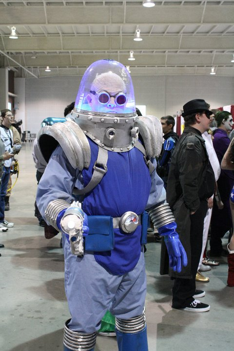 Cosplay Mr. Freeze