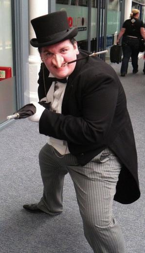 Cosplay Pingüino