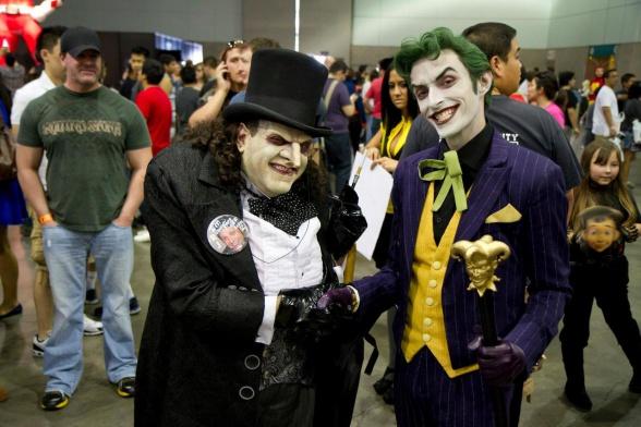 Cosplay Pingüino y Joker