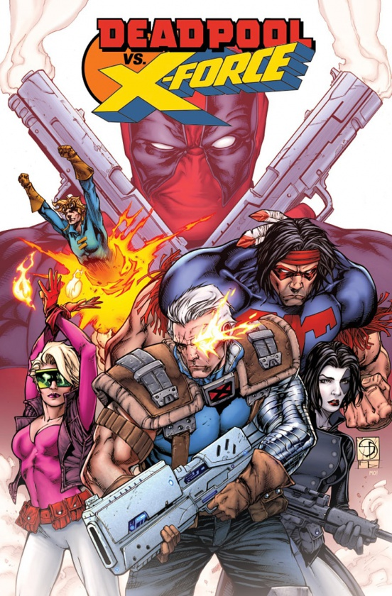 Preview de 'Deadpool VS X-Force' #1