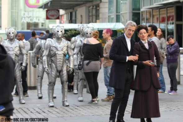 Doctor Who Temporada 8 Cybermen Peter Capaldi Michelle Rodriguez